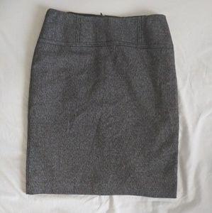 APT 9 plaid pencil skirt
